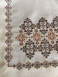 Cross Stitch Boarders, Biscornu Cross Stitch, Cross Stitch Pillow, Cross Stitch Bird, Cross Stitch Flowers, Cross Stitch Designs, Cross Stitching, Cross Stitch Patterns, Hand Embroidery Design Patterns