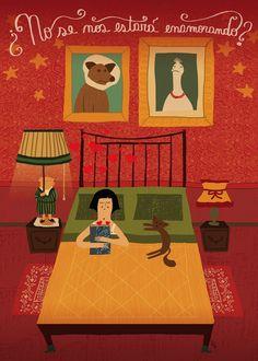 El fabuloso destino de Amélie Poulain Amelie, Pretty Drawings, Film Inspiration, Bullet Journal Themes, Animated Cartoons, Illustration Art, Poster Prints, Fan Art, Wallpaper