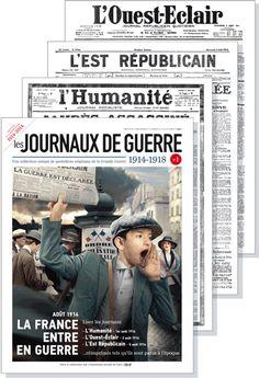 la série Les Journaux de Guerre propose une sélection de journaux de 1914-1918 réimprimés dans leur intégralité, tels qu'ils sont parus à l'...