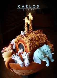 Noah's Ark - Sugar art