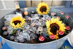 Google Image Result for http://www.babylifestyles.com/images/parties/sunflower-summertime-picnic-first-birthday-party/summertime-picnic-first-birthday-party-sunflowers-in-galvanized-drink-tub1.jpg