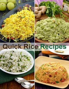 Quick Rice Recipes, Indian Rice Recipes,Tarladalal.com | Page 1 of 8