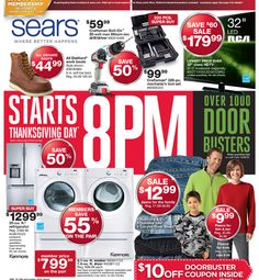 Top 15 Sears Black Friday Deals: Jewelry, Appliances and Apparel!