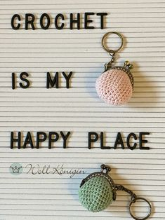 My Happy Place, Personalized Items, Crochet, Nice Things, Tutorials, Nice Asses, Ganchillo, Crocheting, Knits