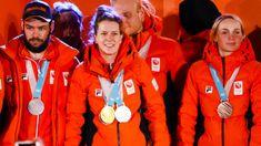 Succesvolle Nederlandse ploeg gehuldigd in Olympisch Stadion - Olympische Winterspelen 2018 | NOS