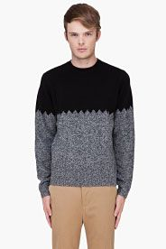 Paul Smith Jeans - Black Combo Knit Sweater