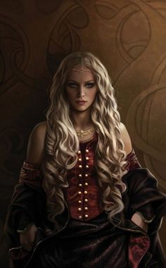 "Character Inspiration | [Princess Rhaenyra, the Realm's Delight. Art from ""The World of Ice and Fire""]"