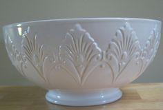 "New Privet House Target shabby Serving Bowl chic White Lasting Impressions 10""  #PrivetHouseAtTarget"