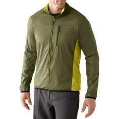 Smartwool Mens Teller Full Zip Jacket Size Medium in Loden | eBay