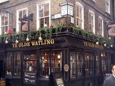 Typical London pub!