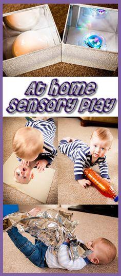 At home sensory play