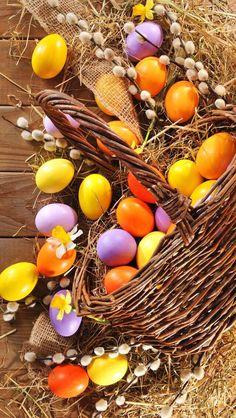 Wallpaper Easter, eggs, Holidays HD Desktop Wallpaper for Ultra HD TV Happy Easter, Easter Bunny, Cute Easter Pictures, Ostern Wallpaper, Easter Backgrounds, Easter Egg Designs, Coloring Easter Eggs, Easter Colors, Easter Celebration