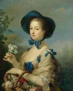 Carle Vanloo, La Marquise de Pompadour en jardinière (vers 1754–1755).jpg