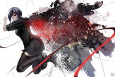 Anime  Collab  Drawing  Fanart  Manga  Touka Kirishima  Tokyo Ghoul  Artwork Wallpaper Cekzvzmdmu