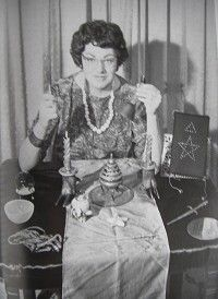 "Famous Witches: Doreen Valiente (1922-99) was an early member & High Priestess of Gerald Gardner's Wiccan coven, helping to revise and expand  much of Gardner's Book of Shadows. Frequently cited as the ""Mother of Modern Witchcraft"" she is among the most influential & respected of witches, co-writing with Gardner many of the rituals & materials that shaped contemporary Wicca. Believing that the future of Paganism lie in feminism and environmentalism, she shifted more emphasis on Goddess…"