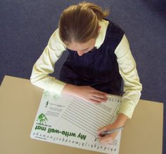 Teaching left handed kids to write: grasp, stages