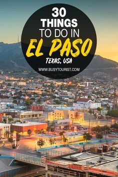 Wondering what to do in El Paso, Texas? This travel guide will show you the top attractions, best activities, places to visit & fun things to do in El Paso, TX here. Start planning your itinerary & bucket list now! #ElPaso #ElPasoTexas #thingstodoingElPaso #usatravel #usatrip #usaroadtrip #travelusa #ustravel #ustraveldestinations #americatravel #travelamerica #texas #vacationusa #ElPasoTX