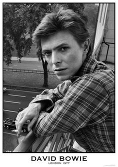 """A beautiful portrait poster of David Bowie! Looking """"down-to-earth"""" in London in during a break from recording the """"Heroes"""" LP. Check out the rest of our incredible selection of David Bowie posters! Need Poster Mounts. Angela Bowie, Viggo Mortensen, Bryan Cranston, Tilda Swinton, Michael Fassbender, Michael Jackson, Duncan Jones, David Bowie Poster, Mozart"""