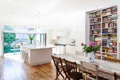 Cobble Hill Row house - transitional - Kitchen - New York - Bonaventura Architect