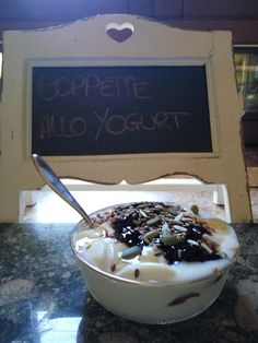 Coppette allo yogurt di soia