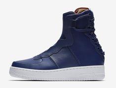 the latest cf2b2 aa691 Nike Air Force 1 Rebel XX Blue Volt AO1525-401 Release Date Air Force 1