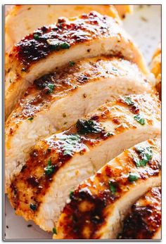 Juicy Chicken Recipes For Summer Meals - Easy and Healthy Recipes Dinner Recipes easy chicken breast recipes Oven Chicken Recipes, Shredded Chicken Recipes, Oven Baked Chicken, Baked Chicken Breast, Cooking Recipes, Chicken Breasts, Recipe Chicken, Chicken Catchatori, Roasted Chicken
