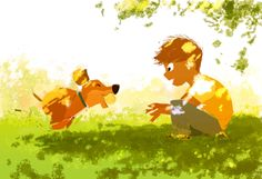 Feels like Summer...( but it's really just January in northern California). #pascalcampionart.
