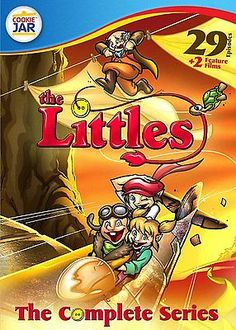 nice The Littles Complete Collection DVD Set TV Show Season 1 2 3 Animated Kids Child - For Sale