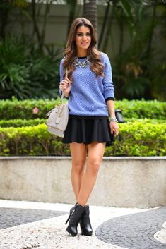 Super Vaidosa » Look do dia: Suéter Jacquard