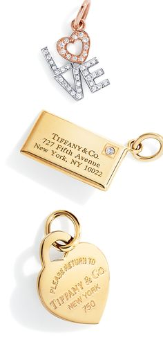 Memories set in gold are the perfect presents for someone charming.