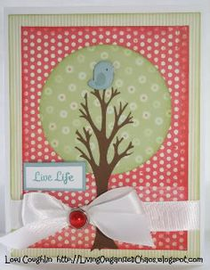 Fantabulous Cricut Challenge Blog: Stretch Your Imagination (could use combo of CTMH Art Philosophy - tree - and Straight from the Nest - bird)