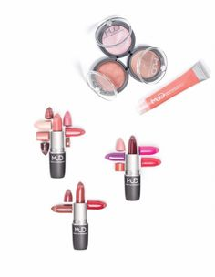 MUD Make-up Mud Makeup, Love Lips, Just Peachy, All Things Beauty