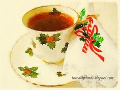 Tea With Friends: Christmas playtime and the Waterlogue app!