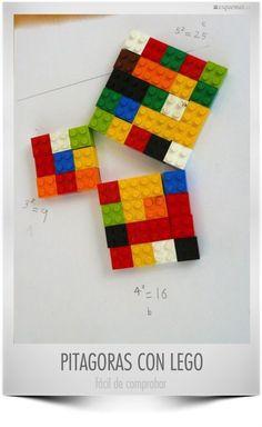 Pitagoras amb LEGO
