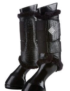 Le Mieux crocodile brushing boots