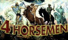 4 Horsemen - First Seal, Second Seal, Third Seal & Fourth Seal of Seven ...