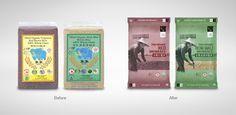 Chang Organic Brown Rice on Packaging of the World - Creative Package Design Gallery