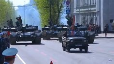 Russia Military Parade in Khabarovsk - T-80BV and T-72B3.
