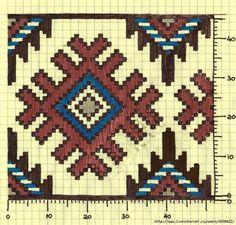 Chart for tapestry crochet. Mochila Crochet, Bag Crochet, Crochet Purses, Crochet Chart, Tapestry Crochet Patterns, Bead Loom Patterns, Cross Stitch Patterns, Knitting Charts, Knitting Patterns