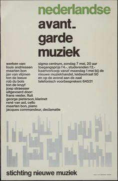 Gielijn Escher, Nederlandse Avant-garde muziek Stichting nieuwe muziek Sigma Centrum, 1960-1970