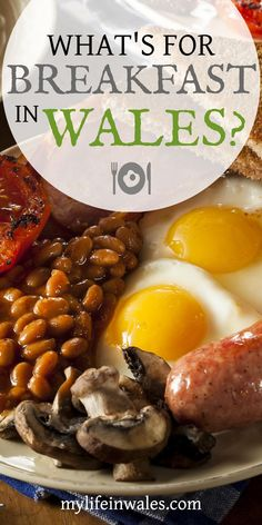 The Full English Breakfast is the most recognized traditional British dish, but what do they eat for breakfast in Wales? What's For Breakfast, Breakfast Bowls, Breakfast Recipes, Traditional Welsh Breakfast, Brunch Recipes, Welsh Recipes, British Recipes, British Dishes