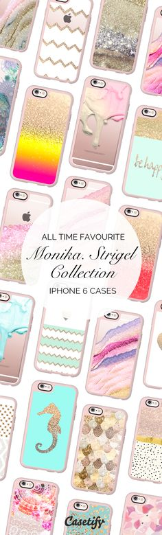 All time favourite iPhone 6 protective phone case designs by Monika Strigel | Click through to see more iphone phone case ideas >>> https://www.casetify.com/Monika.Strigel/collection | @casetify