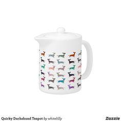 Quirky Dachshund Teapot