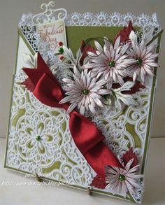 decorative corner and flowers