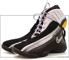 #Nike Air Zoom GP III. Sadly I wore these nastoids Jr. year for #basketball. I even bought at least one other sleeve for them too. #shoes