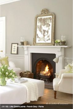 Little Greene paint French Gray