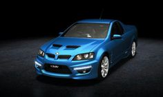 HSV Maloo R8 with a 435HP V8 Corvette engine that runs on liquid propane.