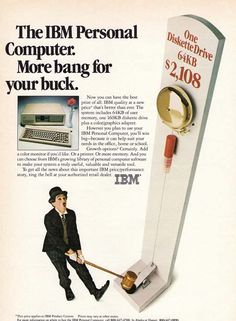 IBM Personal Computer Ad.