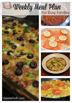 meal planning ideas for busy families
