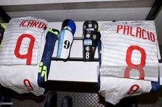 A general view of the locker room of FC Internazionale before the Serie A match between Genoa CFC and FC Internazionale Milano at Stadio Luigi Ferraris on May 23, 2015 in Genoa, Italy.